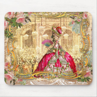 Marie Antoinette Versailles Party Pink Mouse Pad