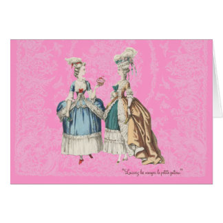 Marie Antoinette Vintage Series - ... - Customised Card