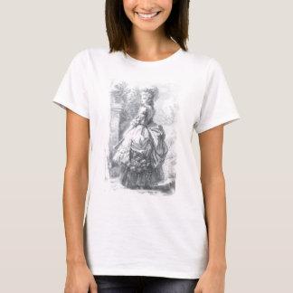 Marie Antoinette - walking in a garden. T-Shirt