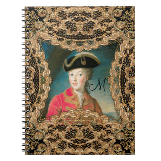 Marie Antoinette Youth Baroque  Monogram Notebook