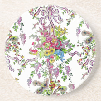 Marie Antoinette's Boudoir Beverage Coaster