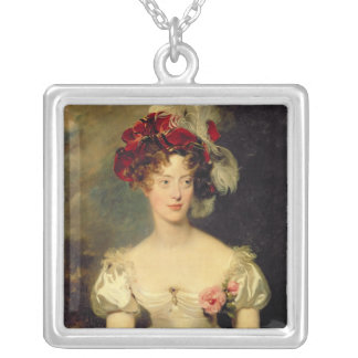 Marie-Caroline de Bourbon  Duchesse de Berry Silver Plated Necklace