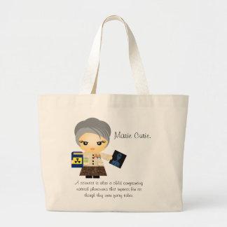 Marie Curie Jumbo Tote Bag