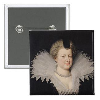 Marie de Medici 15 Cm Square Badge
