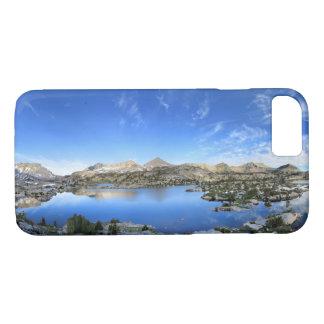 Marie Lake Morning Panorama - John Muir Trail iPhone 8/7 Case