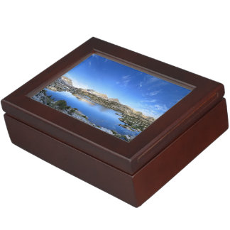 Marie Lake Morning Panorama - John Muir Trail Keepsake Box