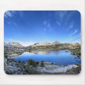 Marie Lake Morning Panorama - John Muir Trail Mouse Pad