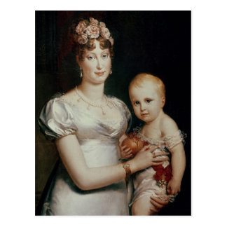 Marie-Louise  of Habsbourg-Lorraine Postcard