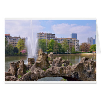 Marie-Louise square in Brussels, Belgium Card