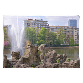Marie-Louise square in Brussels, Belgium Placemat