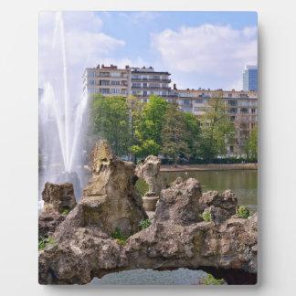Marie-Louise square in Brussels, Belgium Plaque