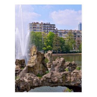 Marie-Louise square in Brussels, Belgium Postcard