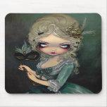 Marie Masquerade gothic Rococo Mousepad