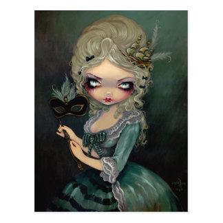 Marie Masquerade Postcard