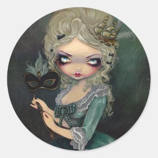 """Marie Masquerade"" Sticker"