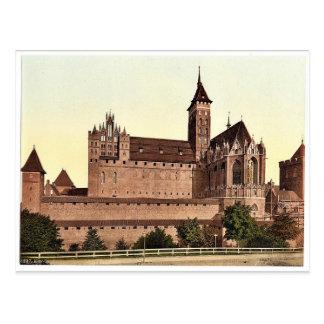 Marienburg, east side, Prussia, Germany (i.e., Mal Post Card