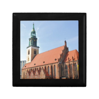 Marienkirche in Berlin, Germany Small Square Gift Box