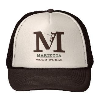 Marietta Wood Works Logo Trucker Hat