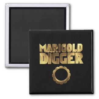 Marigold digger black gold magnet