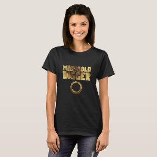 Marigold digger black gold T-Shirt