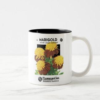 Marigold, Dwarf Midget, F. Lagomarsino & Sons Mugs