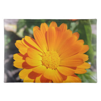 marigold flower placemat
