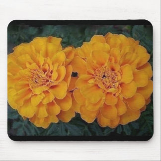 "Marigold Mouse Pad""Twins"" Mouse Pad"