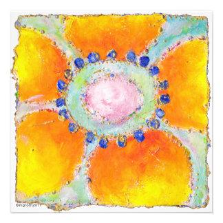 marigold shower invitation