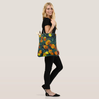Marigolds 22 Tote Bag