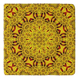 Marigolds Colorful Trivet