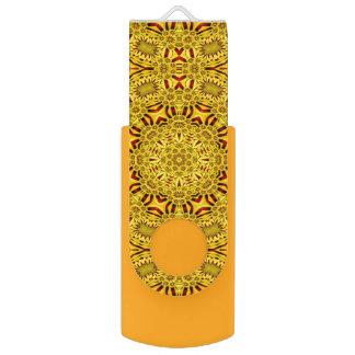 Marigolds  Colorful USB Flashdrive Flash Drive