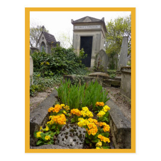 Marigolds & Graves Postcard