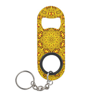 Marigolds Kaleidoscope    Bottle Openers, 3 styles