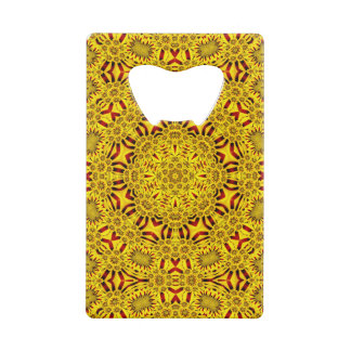 Marigolds Kaleidoscope      Credit Card Openers