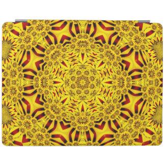 Marigolds Kaleidoscope   iPad Smart Covers iPad Cover