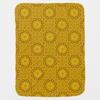 Marigolds Tiled Design Baby Blankets