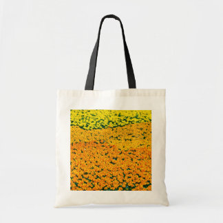 Marigolds Yellow flowers Tote Bags