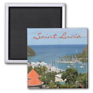 Marigot Bay Saint Lucia Magnet