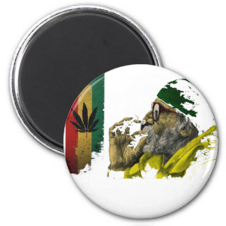 Marihuana 6 Cm Round Magnet