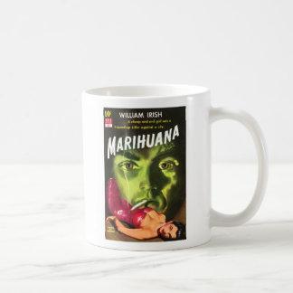 Marihuana Paperback Cover Coffee Mug