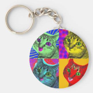Marilyn Cats Key Ring