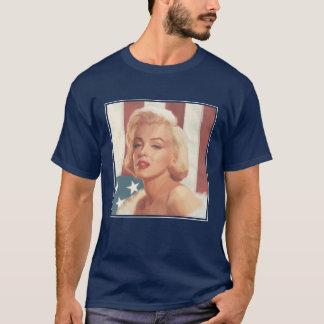 Marilyn Flag T-Shirt