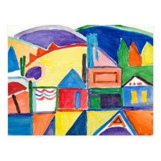 "Marilyn Holmes Fine Art Postcard ""Main Street"""