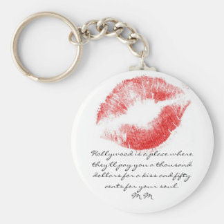 Marilyn Key Ring