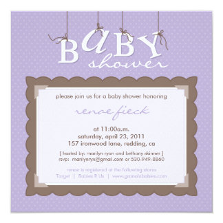 marilyn ryan :: BABY SHOWER INVITES