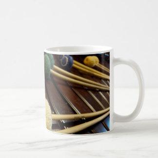 Marimba Mallets on Marimba Coffee Mug
