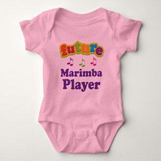 Marimba Player (Future) Baby Bodysuit
