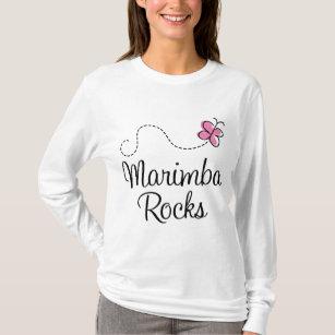 Marimba Rocks music T-Shirt