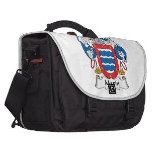 Marin Family Crest Laptop Computer Bag