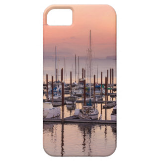 Marina along Columbia River at Sunset in Oregon Barely There iPhone 5 Case